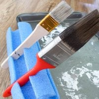 Pool Noodle Paint Brush Stand