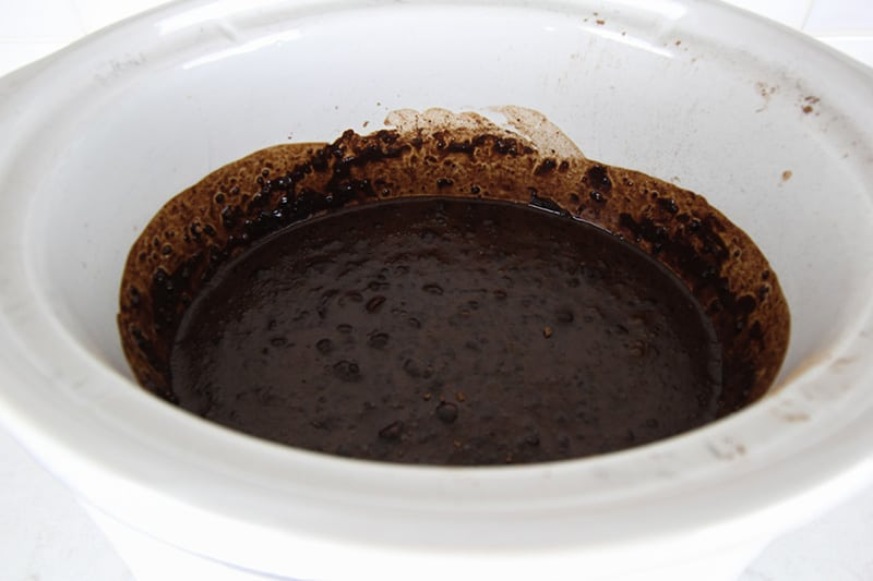 Slow Cooker Chocolate Syrup