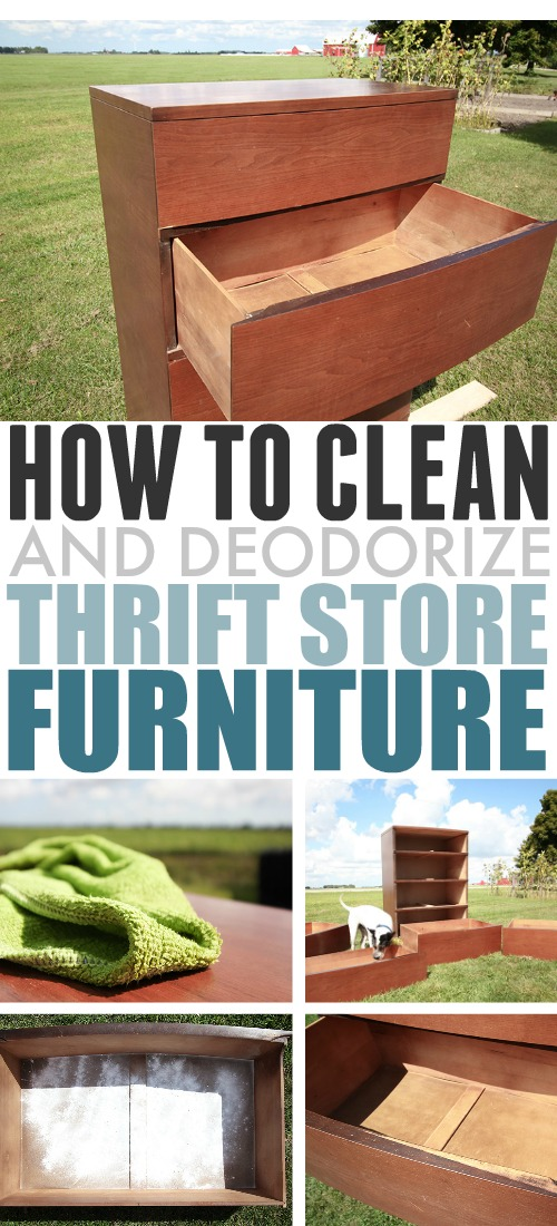 In This Post We Ll Talk About How To Clean Thrift Furniture That You