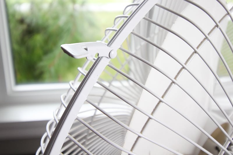 In this post we're going to talk about how to clean a fan before you put it away for the season or before you bring it back out of storage in the spring.
