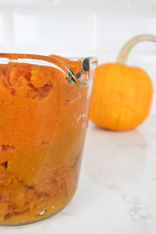 This slow cooker pumpkin dump cake will become an instant classic with your family. It doesn't look pretty, but it's the perfect comfort food for a chilly fall evening at home!