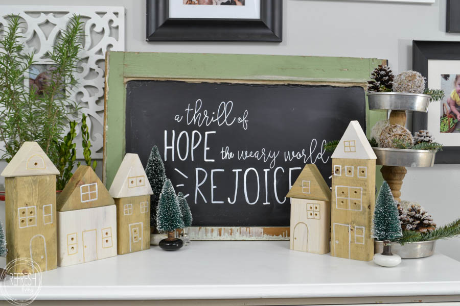 Easy and Affordable Scrap Wood Christmas Decor Ideas for this Holiday Season!