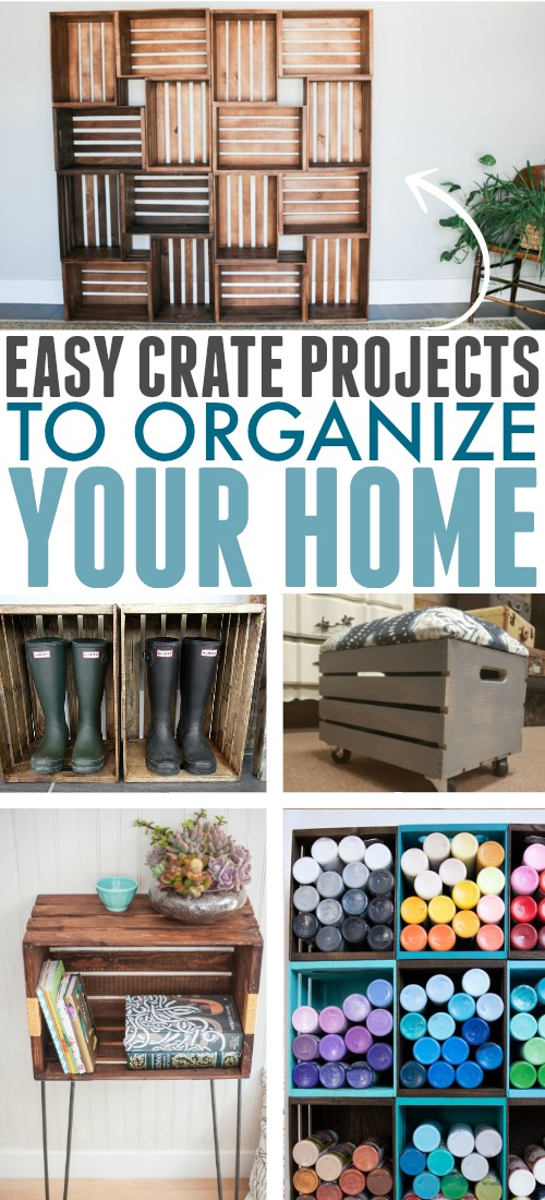 Basic crates can be used for so many different things around your home from organization to furniture building. Today's post is all about some of the best easy crate projects that have caught my eye!
