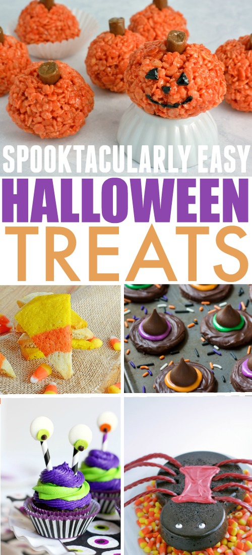Try these easy halloween treat ideas to create something fun and festive without having to spend all day making a mess in the kitchen!