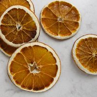 How to Dry Orange Slices for Christmas