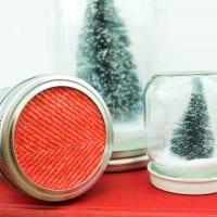 Mason Jar Ideas for Christmas