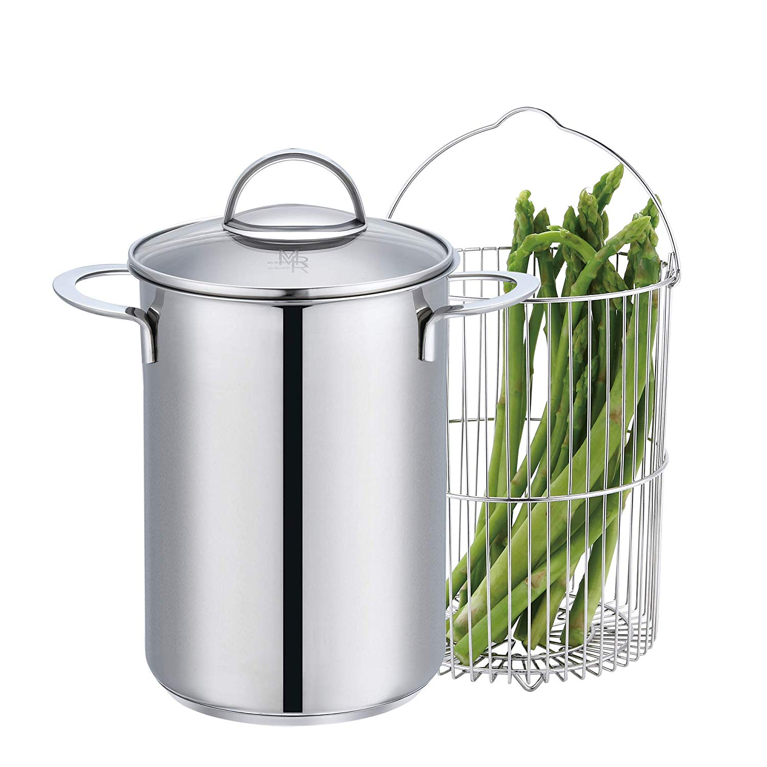 Fun and Practical Gift Ideas for Veggie Gardeners!  Stainless Steel Classic Asparagus Steam Cooker