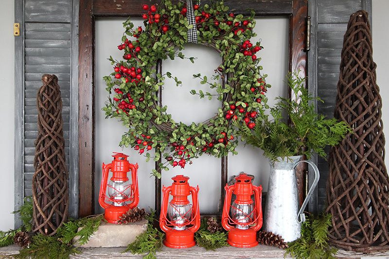 Welcome to our 120-ish year-old farmhouse! It's Christmas and we've decked the halls so we can share a few of our favourite farmhouse style Christmas decor ideas for this year with you!