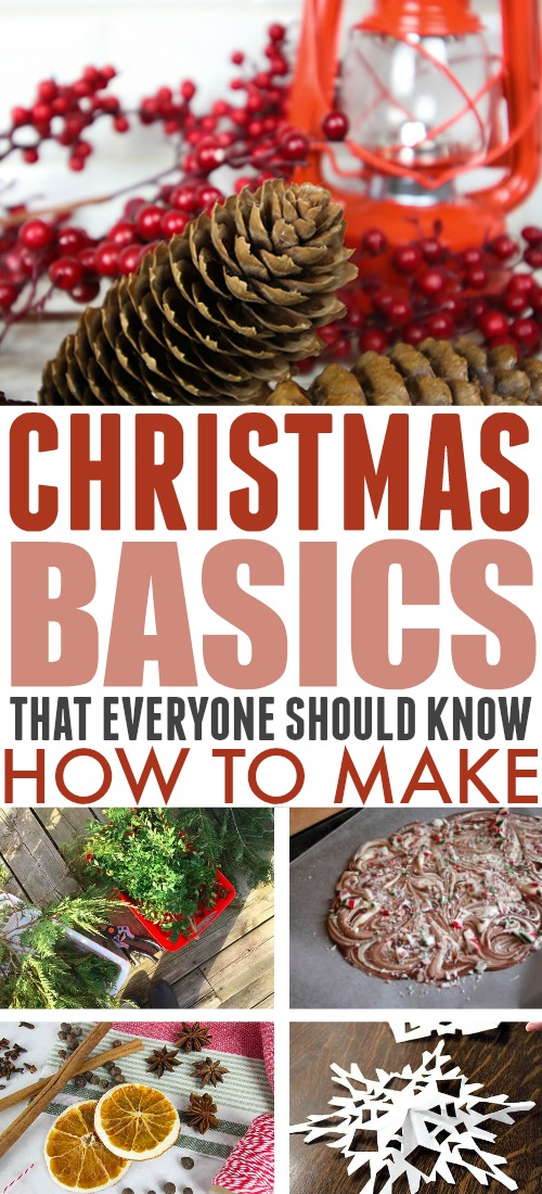 There are certain classic elements of a Christmas season well-spent that seem to create that warm, cozy Christmas experience for us all, no matter who we are, or where we're from. I'm calling these my Christmas basics. Simple Christmas components that everyone should know how to bring to life when the Christmas spirit compels you! :)