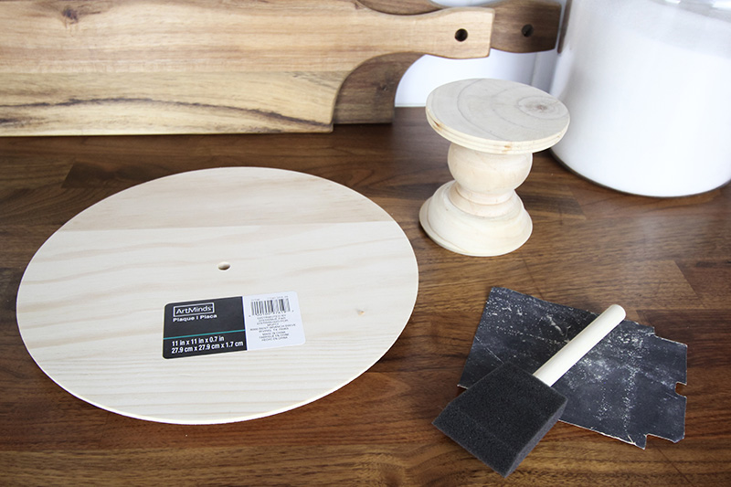 This DIY cake stand will come in handy for so many baking and decorating situations! You can make one yourself for so much less than it costs to buy one!