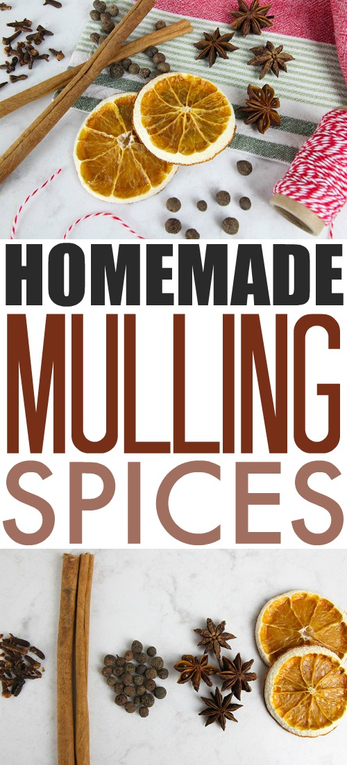 Christmas Kitchen Basics - How to Make Homemade Mulling Spices.