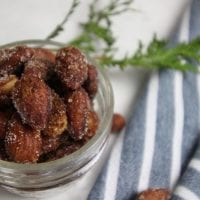 Slow Cooker Sugared Almonds