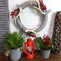 Easy DIY Wool Christmas Wreath