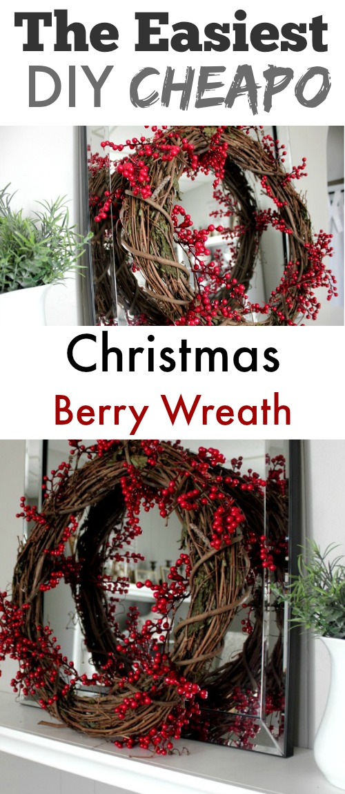 DIY Christmas Basics - How to Make a Simple, Inexpensive Wreath.