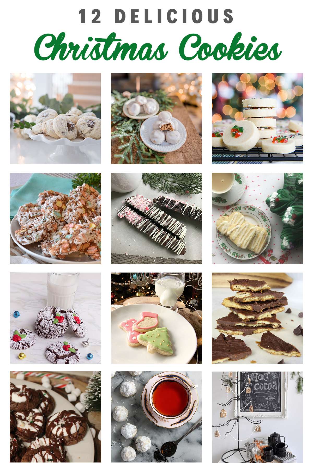 12 Delicious Christmas Cookies