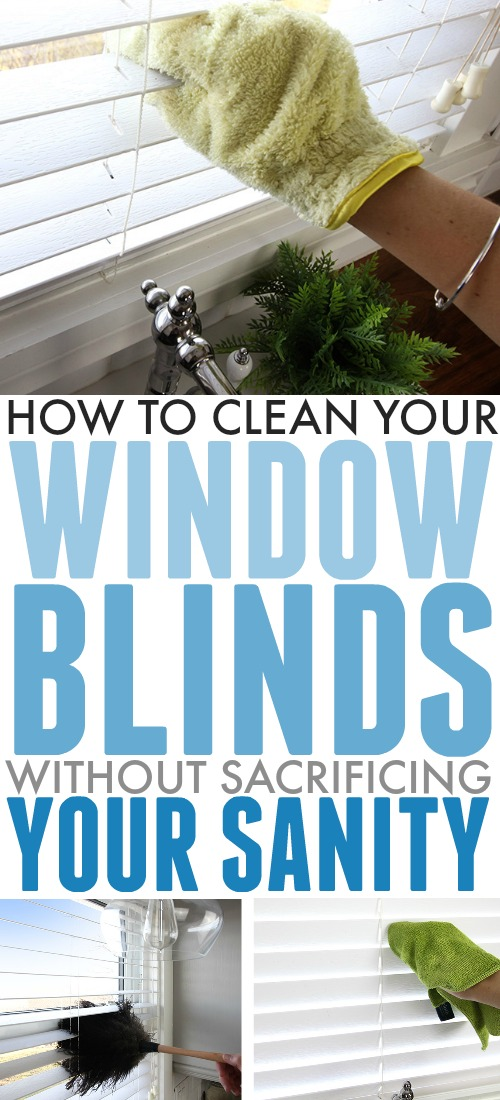 Here's the simple, straightforward way to clean window blinds so you can get that dusty mess under control once and for all!