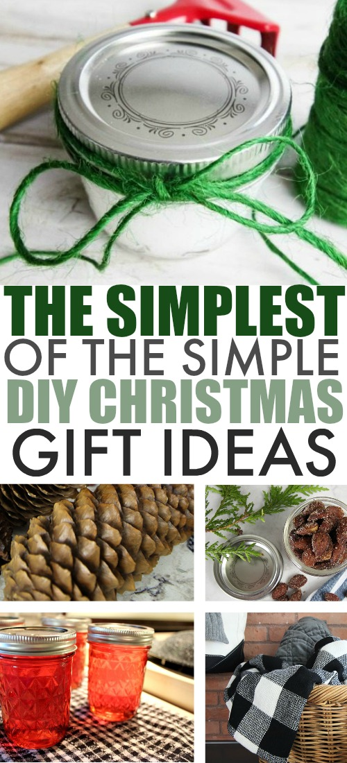 Taking the time to make a handmade gift at this time of year is such an appreciated gesture, but it can be hard to make that happen during this busy season. Here are some of my favourite simple DIY Christmas gift ideas that you can make in just a few minutes!