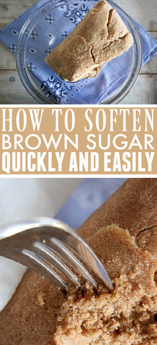 How to soften brown sugar quickly and easily so you can start baking whenever the urge strikes!