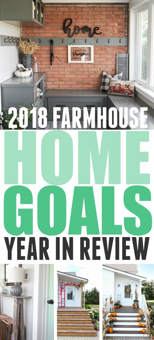 In today's post I'm going to talk about what some of our goals were for our home upgrades in 2018 and report back on how we did!