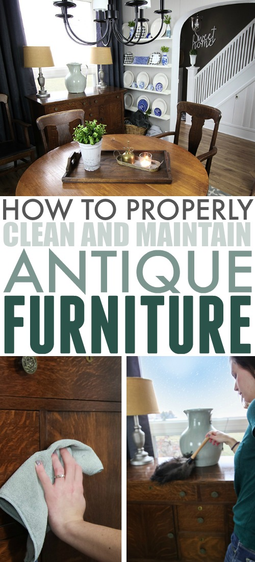 Here's a little secret from one cleaning ninja to another: Antique furniture is actually pretty much the easiest-to-maintain furniture you can own once you get rid of the layers of grime from years in storage. Here's my method for how to clean antique furniture.