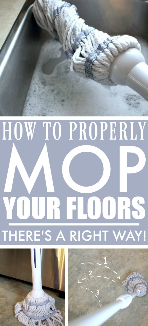How to Properly Mop Your Floors!