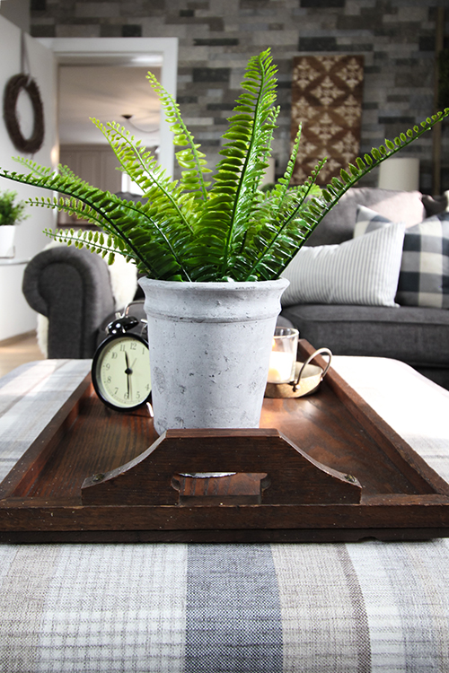 IKEA farmhouse decor finds: Faux plants