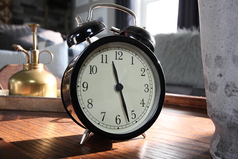 IKEA Farmhouse decor finds: Alarm clock