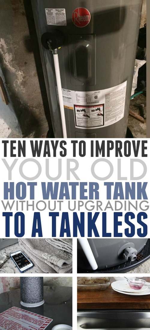 If you're not quite ready to upgrade to a tankless hot water system in your home, check out these quick tips to improve the efficiency of your hot water tank and save money!