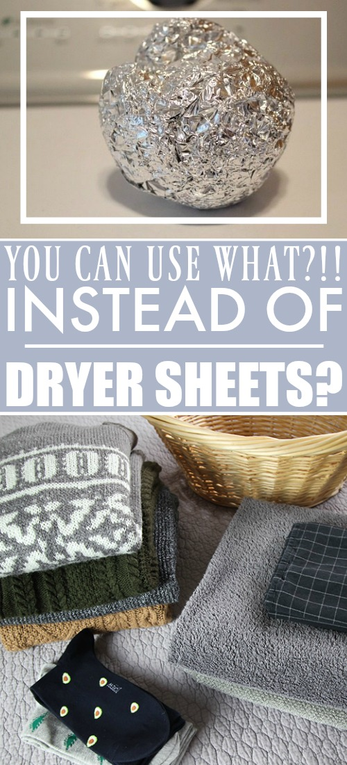 This little trick will save you time and money on laundry day and you'll never worry about running out of dryer sheets again. You're going to love this alternative to dryer sheets!