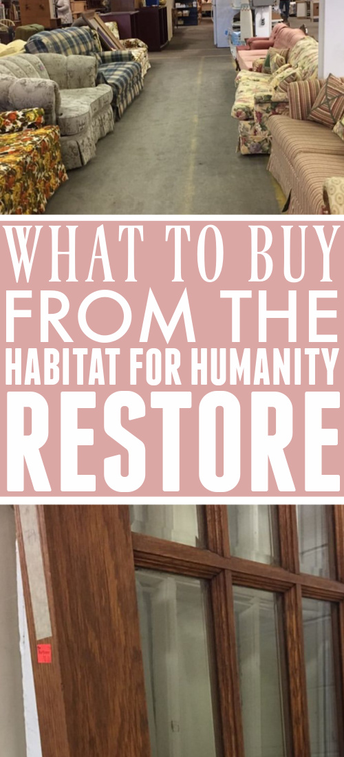 Have you ever wondered just how people findthese great items to use in their homes at Habitat for Humanity ReStore locations? It helps to know what to look for. Here's what to buy form the ReStore!