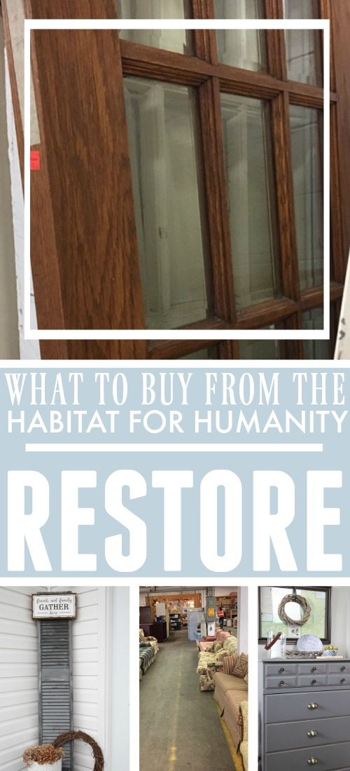What to buy from the Habitat for Humanity Restore