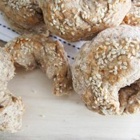 Two Ingredient Bagel Recipe (Plant-Based Version)
