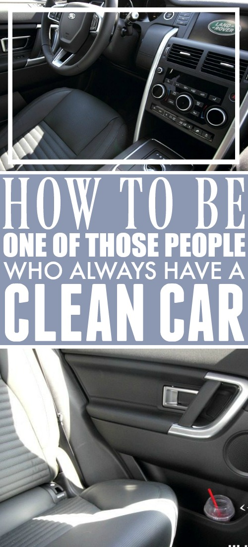 It can be really challenging to keep a clean car, but have you ever noticed how some people make it look easy? Here are some car interior cleaning tricks so you can make it look easy too!