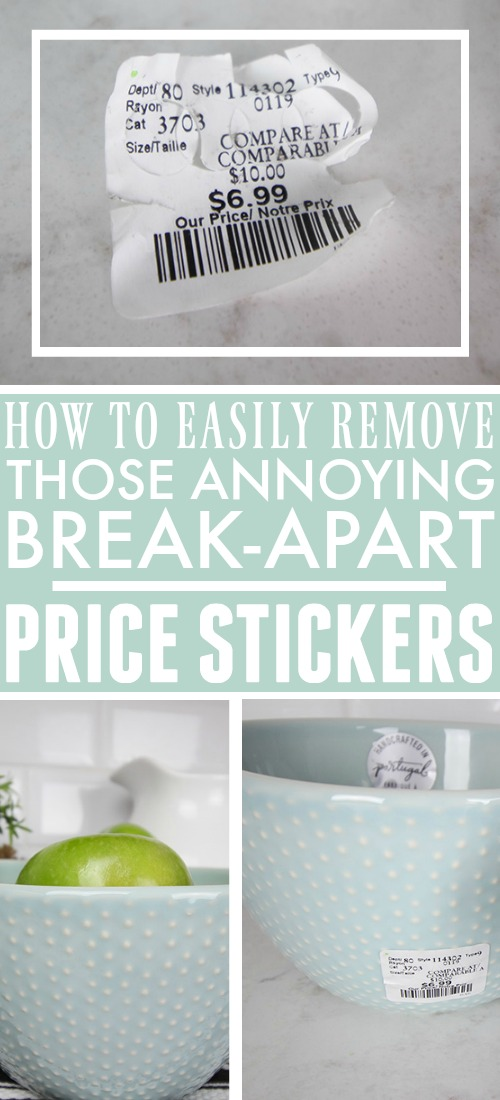 Removing Break-Apart Price Stickers