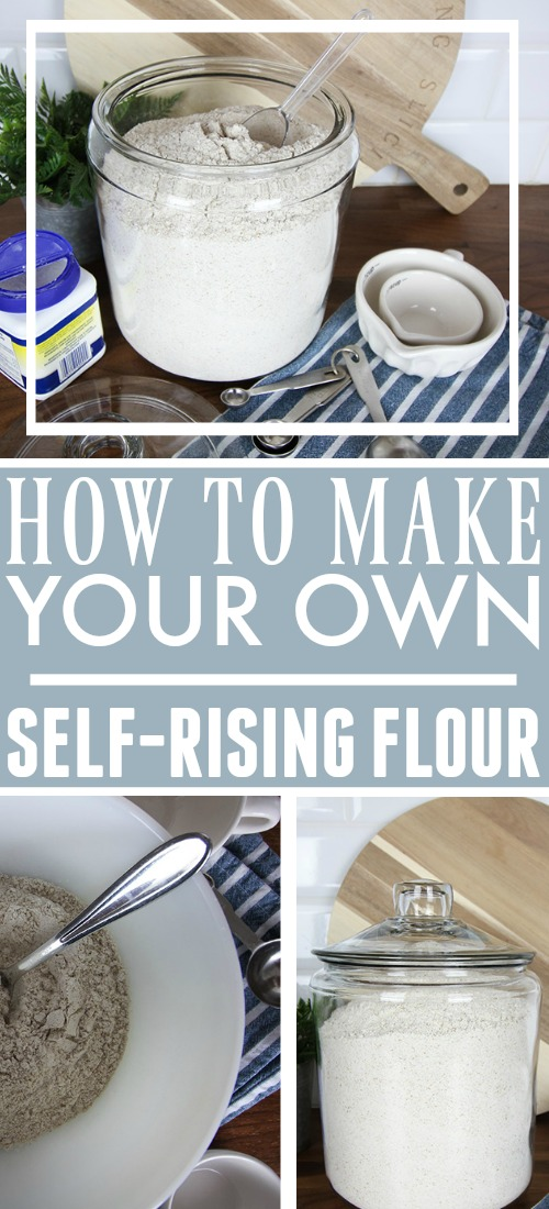 Making Your Own Self-Rising Flour