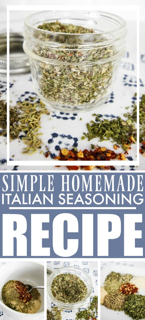 DIY Homemade Italian Seasoning Recipe