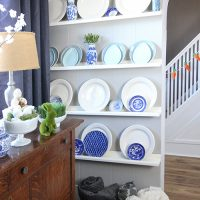 How to Create an Inexpensive Plate Wall