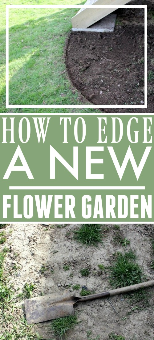 Create amazingly beautiful flower beds in your yard this spring with one easy tip.  Here's how to edge a flower bed quickly and easily so you can have your own professional-looking gardens to enjoy.