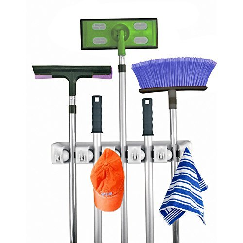 The Top Ten Spring Cleaning Helpers From Amazon - Home-it Mop and Broom Holder