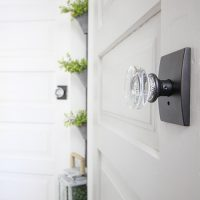 Interior Door Updates: New Doors and Door Knobs