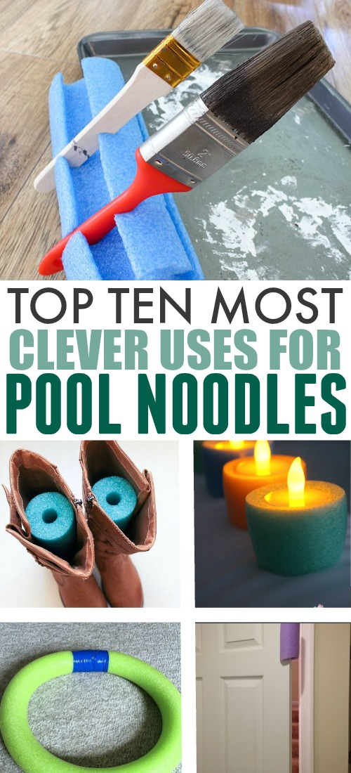 Pool noodles aren't just for the pool and lake anymore! People are finding clever uses for pool noodles left, right, and centre and I decided to pull some of my favourite ideas all together in one place today.