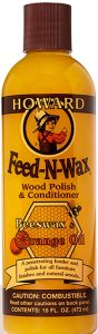 The Top Ten Spring Cleaning Helpers From Amazon - Feed-N-Wax Wood Polish and Conditioner