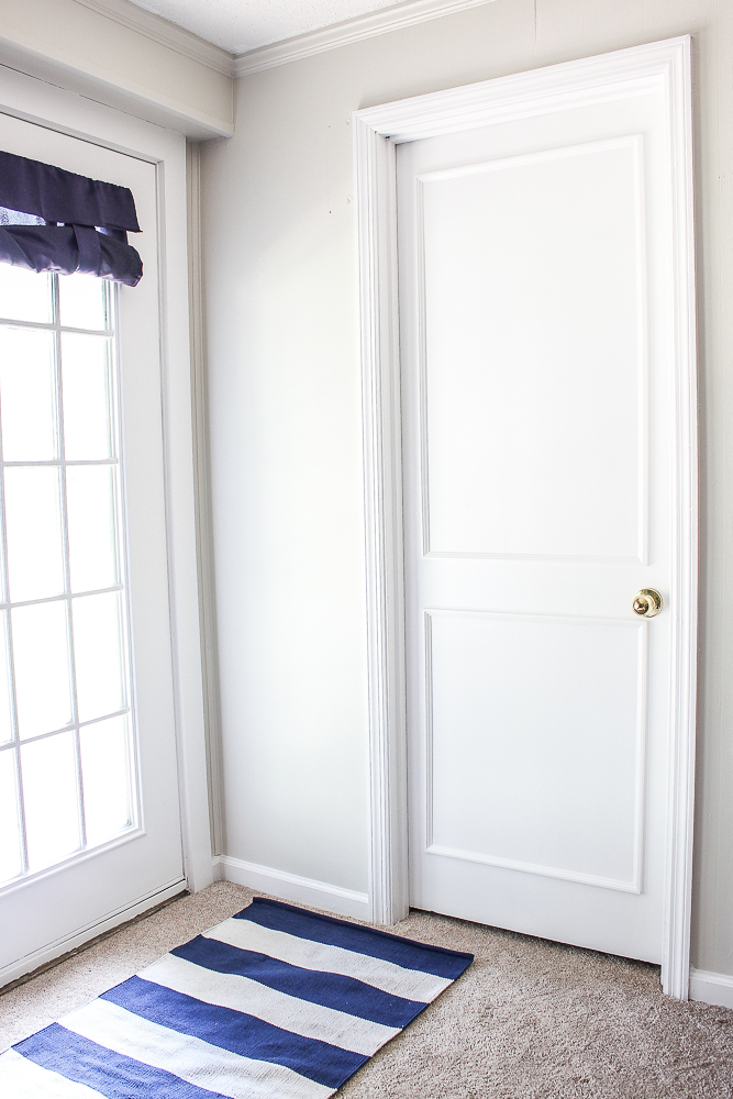 Plain Door Makeover