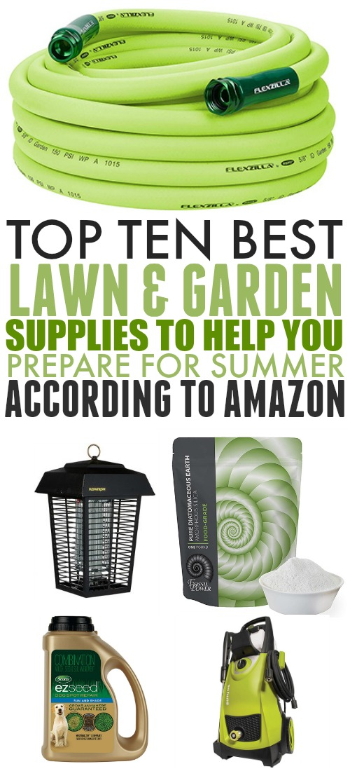 It's time to get outside and enjoy the weather. Here are some great finds on Amazon to help you prepare your outdoor areas for summer.