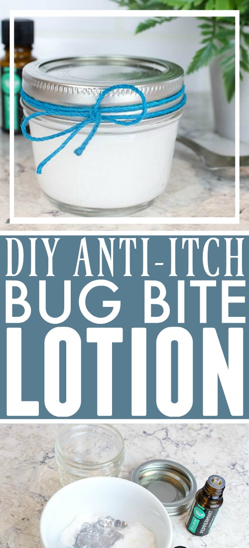 You can make your own anti-itch bug bite lotion using simple ingredients that you may already have in your pantry and your medicine cabinet! I love that this recipe really works and uses all-natural ingredients including Peppermint Essential Oil!