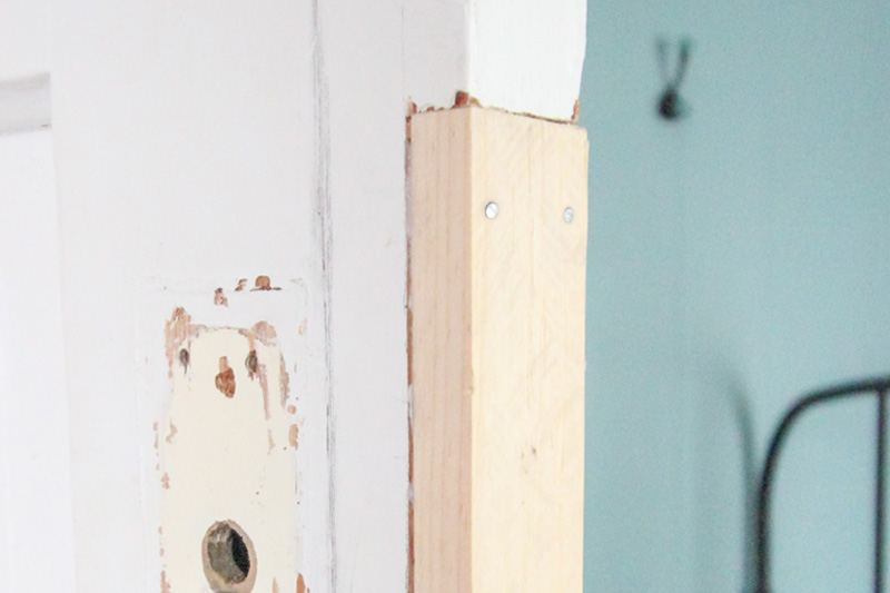 Restore Old Doors - Fit and glue patch
