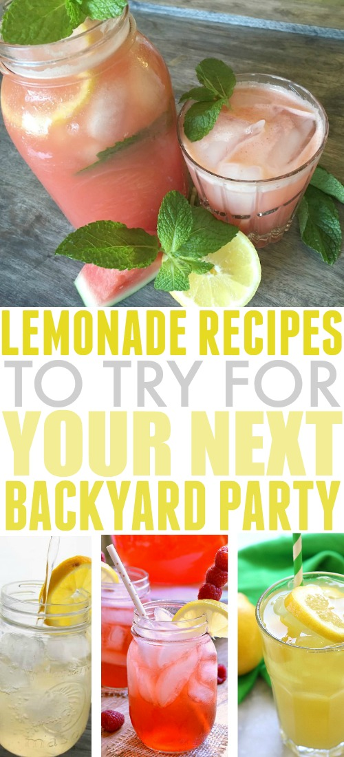 Lemonade is the ultimate crowd-pleaser when it comes to summertime beverages. Check out this selection of kid-friendly and grown-up-friendly lemonade recipes for inspiration before your next backyard get together!