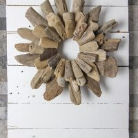 DIY Rustic Shiplap-Inspired Wall Art