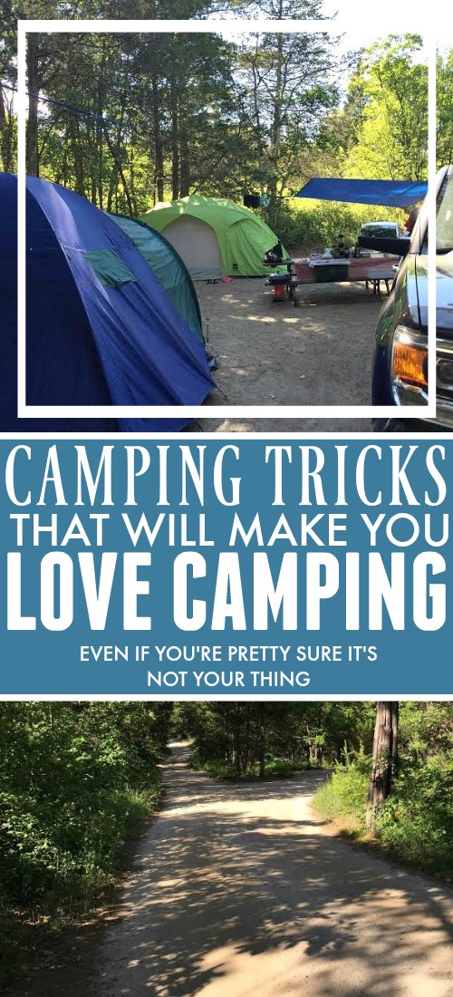 You don't need to know all the best camping tips and tricks to have an amazing, memorable camping experience.  All you need is a sense of adventure and an eagerness to have fun.  But to get you started, check out my favorite camping tips, tricks and advice that will set you up for fun.