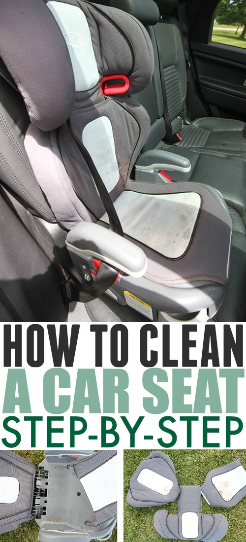 At some point, no matter how much you try to avoid it, you're going to have some kind of a messy disaster to clean up in your kid's car seat. Read on to learn how to clean a car seat cover easily!